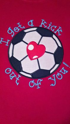 Personalized Soccer Ball Valentine's Day Cards.