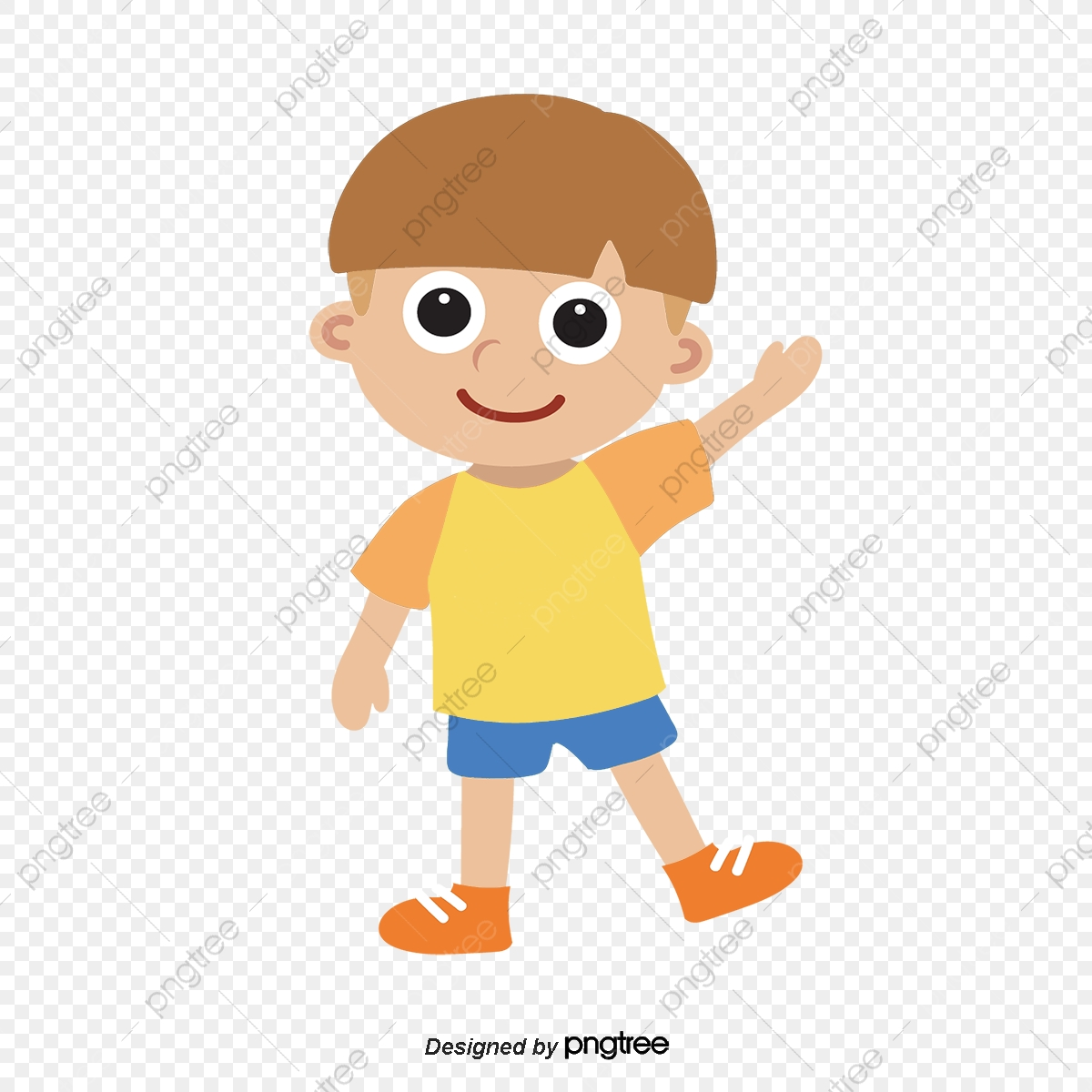 Walking Boy, Walk, Boy, Cartoon PNG and Vector with Transparent.
