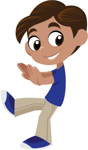 Boy Walking Backwards Clipart Clipground
