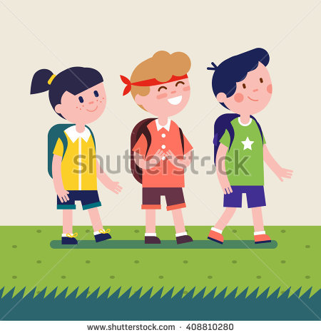 Clipart Kids Stock Images, Royalty.