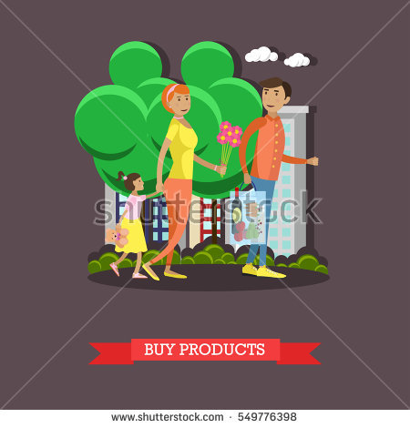 Grocery Woman Store Summer Stock Images, Royalty.