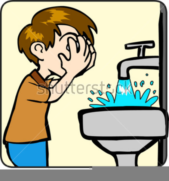Washing Face Clipart Group (+), HD Clipart.