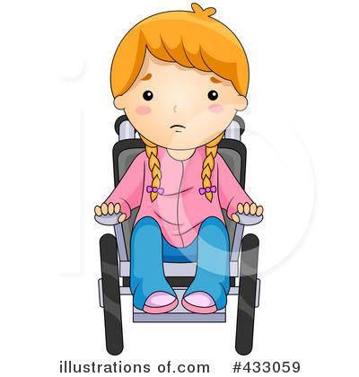 Wheelchair Clipart #433059.