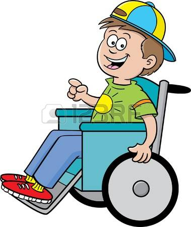 1,096 Children Wheelchair Stock Vector Illustration And Royalty.