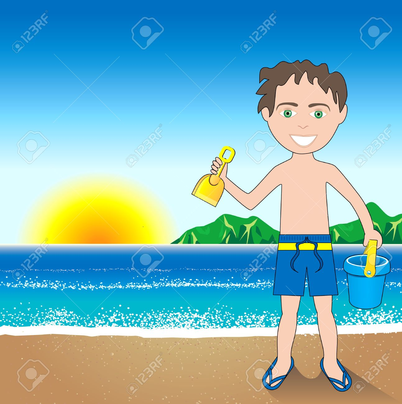 517 Mexico Beach Stock Vector Illustration And Royalty Free Mexico.