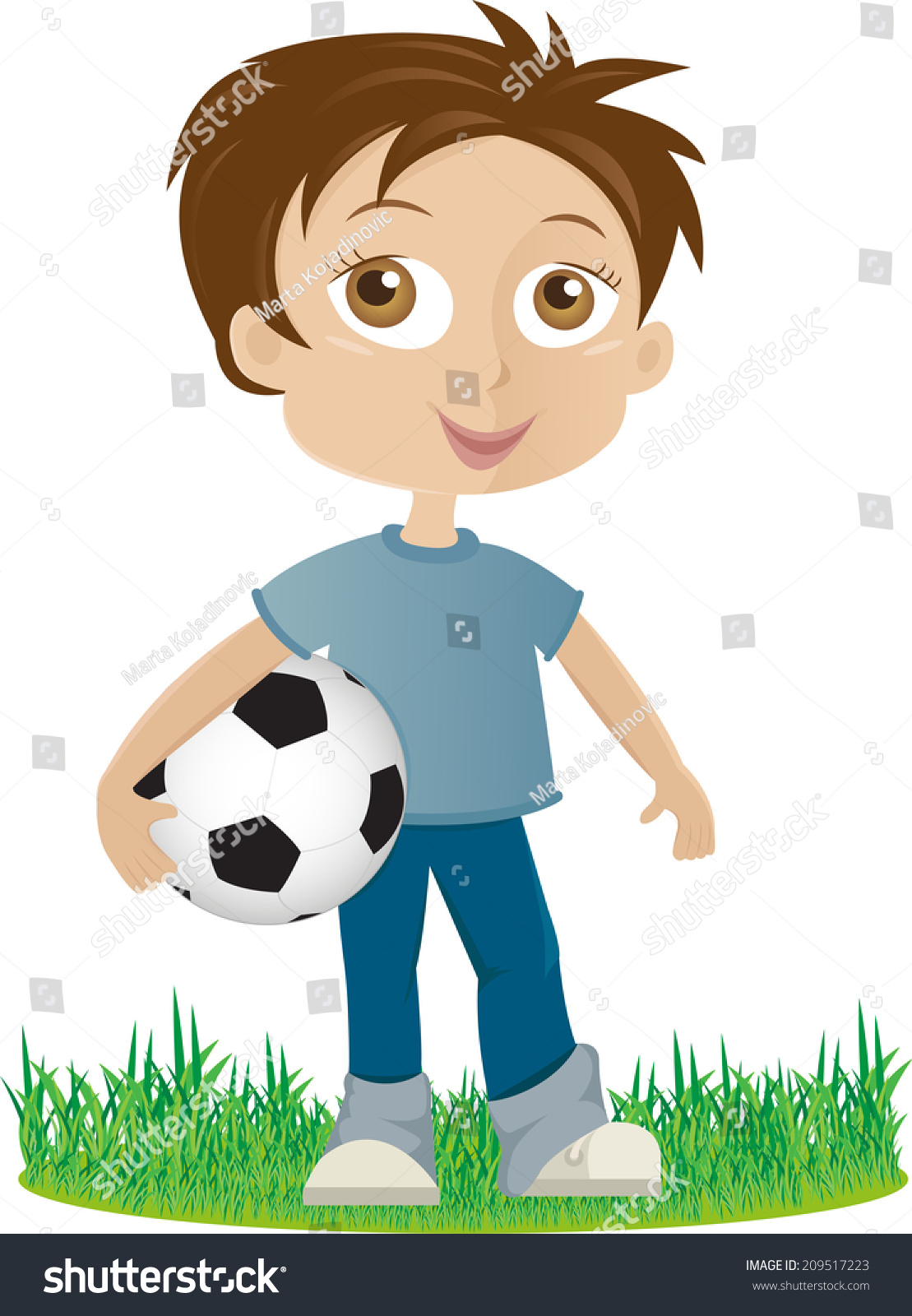 Boy holding a ball clipart 7 » Clipart Station.