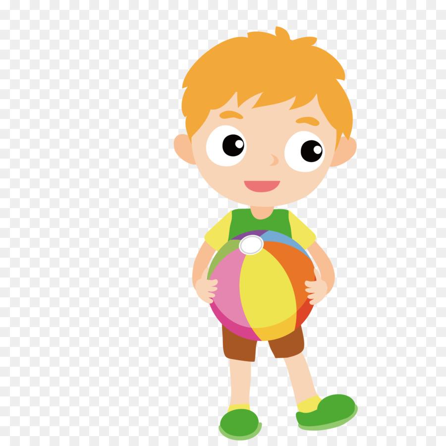 Boy holding a ball clipart 8 » Clipart Station.