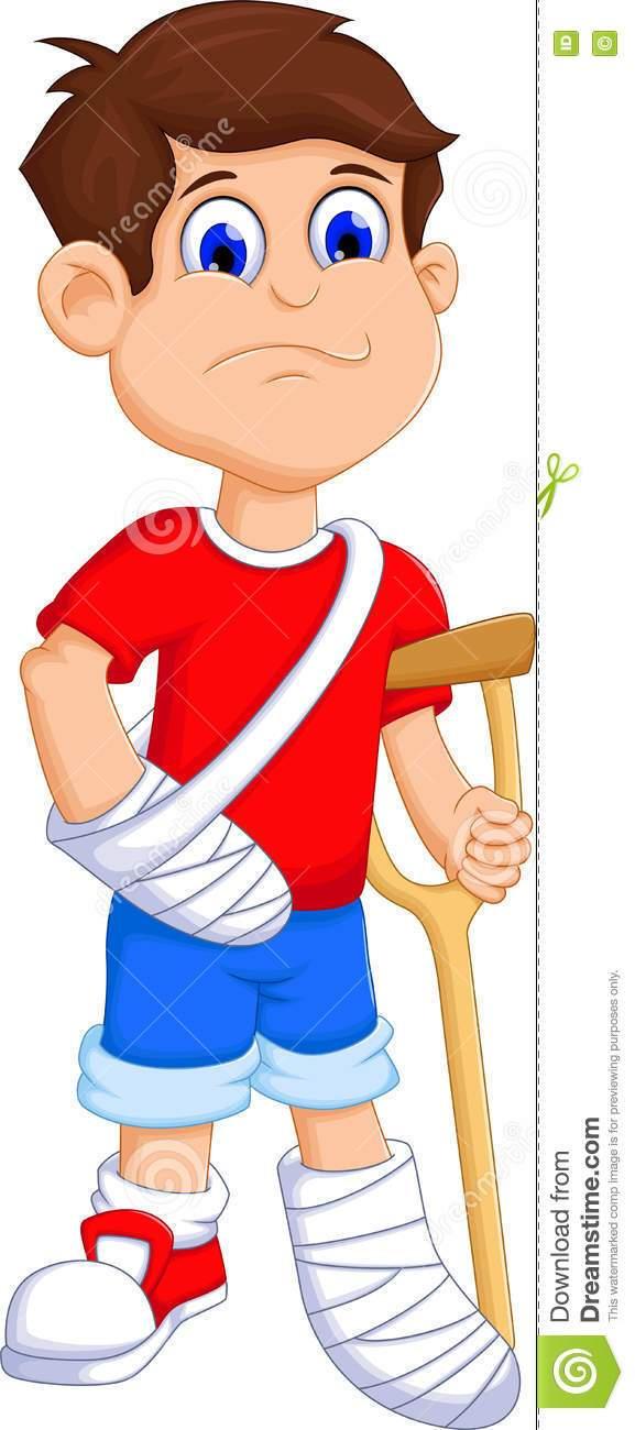 Boy with broken arm clipart 5 » Clipart Portal.