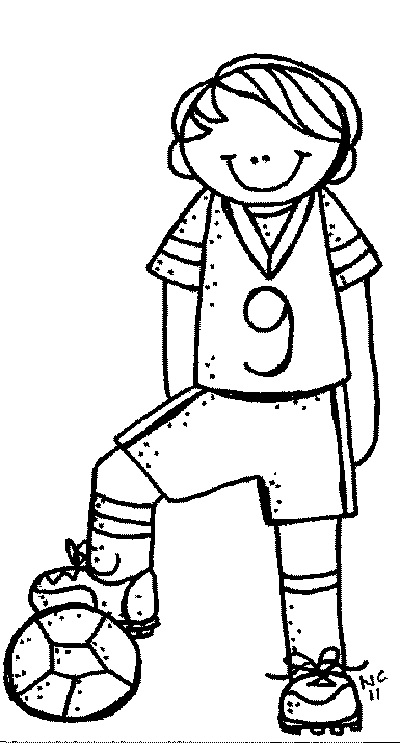 Boy Clipart Black And White.