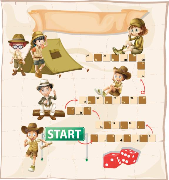 Boy And Dice Clip Art, Vector Images & Illustrations.