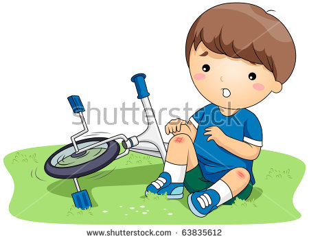Hurt Child Stock Images, Royalty.