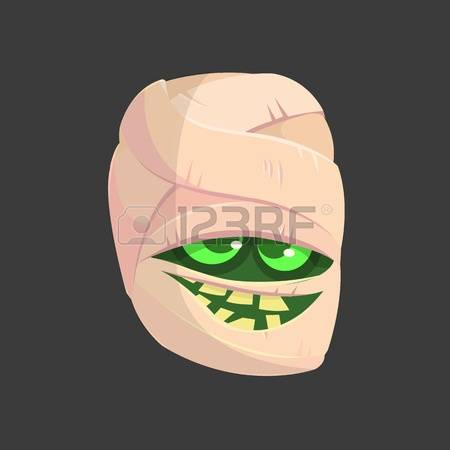 Boy With Scar On Face Clipart.
