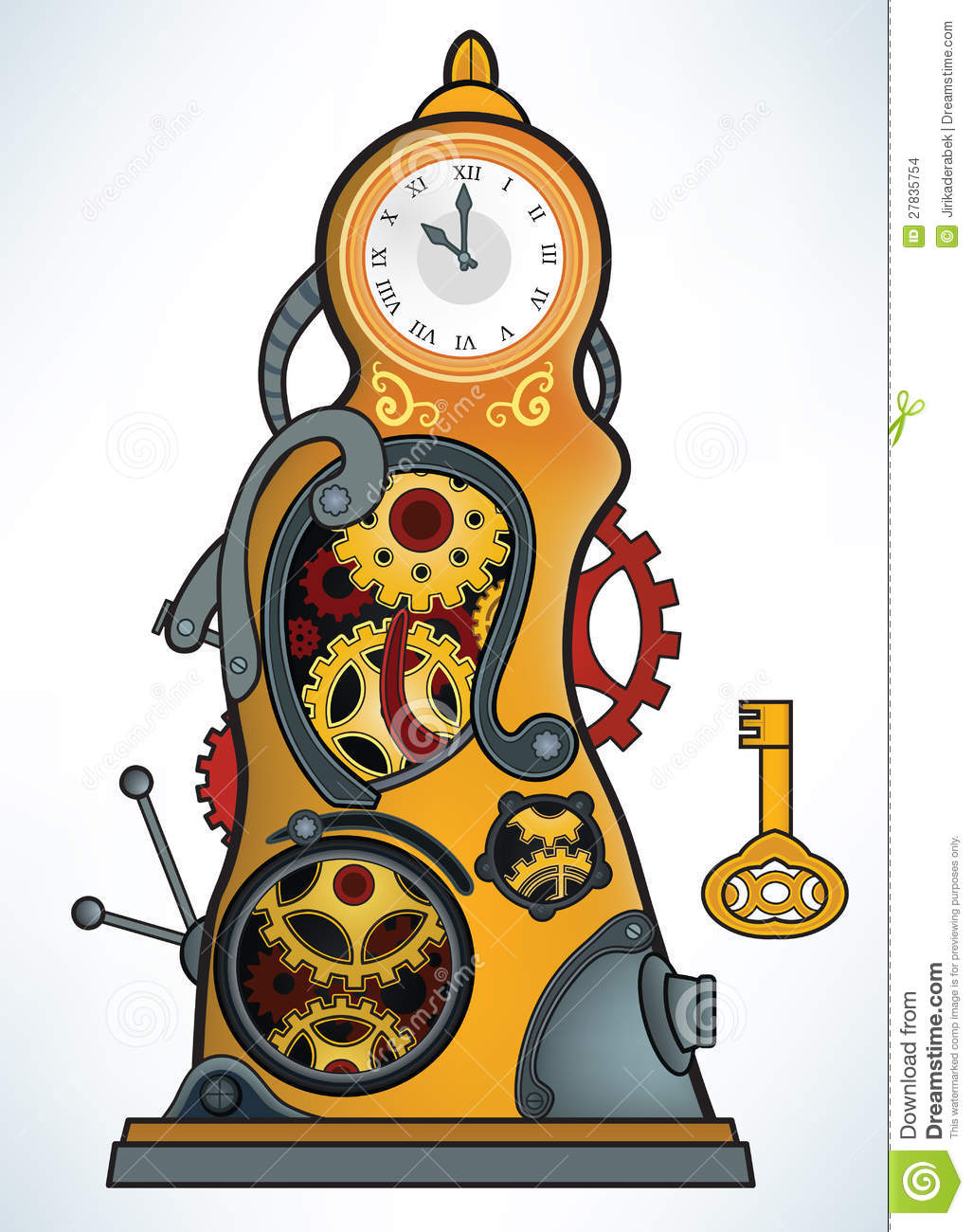 Time Machine Clipart.