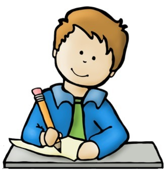 Writing Clipart For Kids.