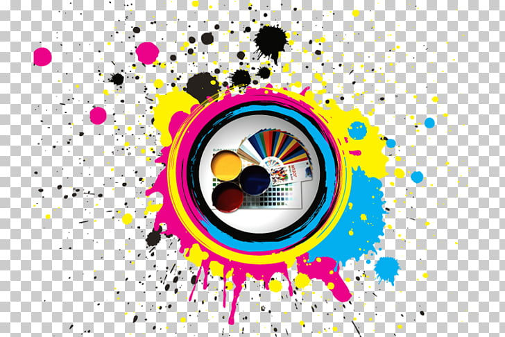 CMYK color model Advertising Printing, boya PNG clipart.