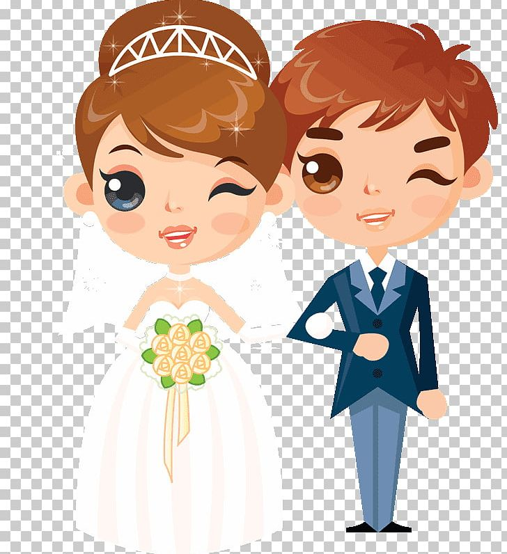 Caricature Wedding Boyfriend Drawing Couple PNG, Clipart.