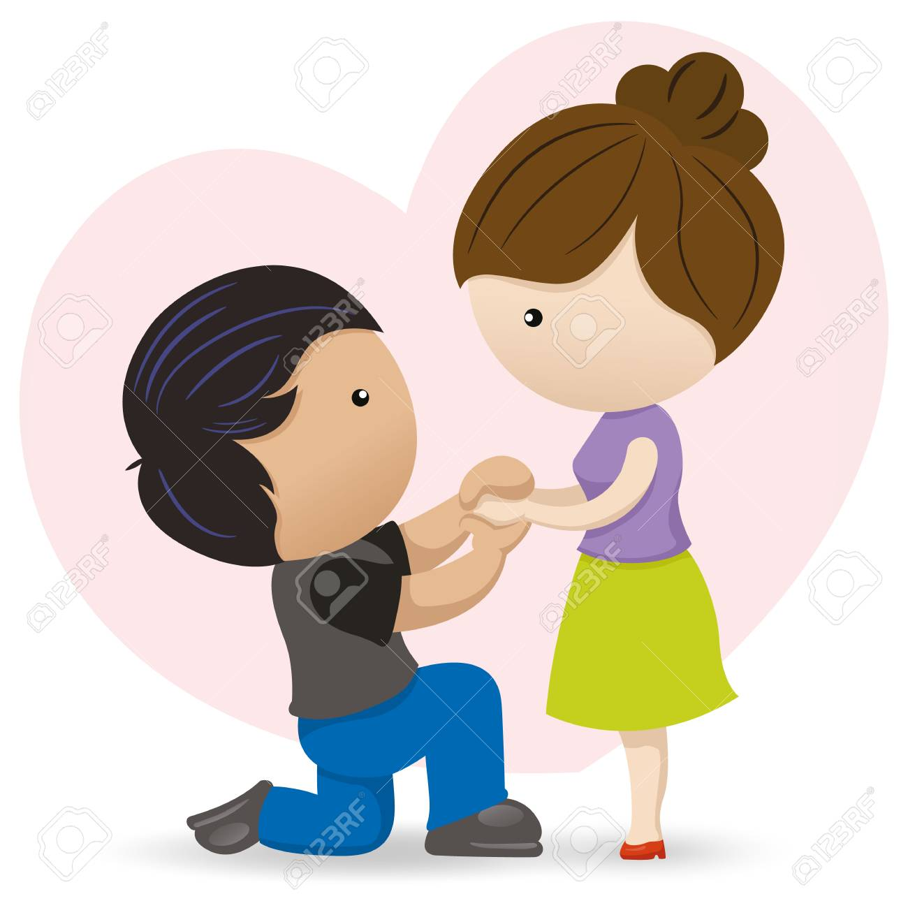 Boyfriend and girlfriend clipart 7 » Clipart Station.