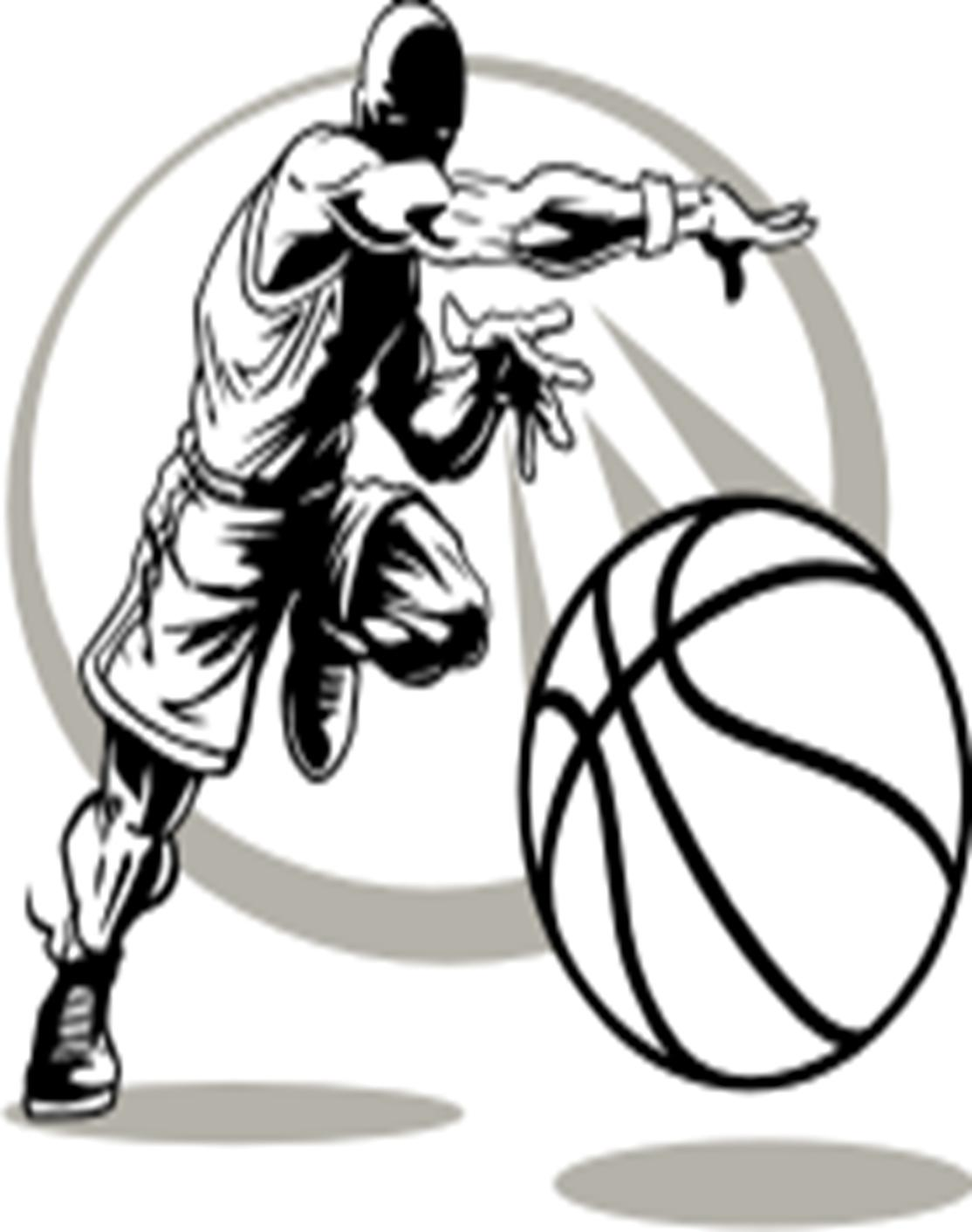 Boys Basketball Clipart Black And White Number 1 20 Free