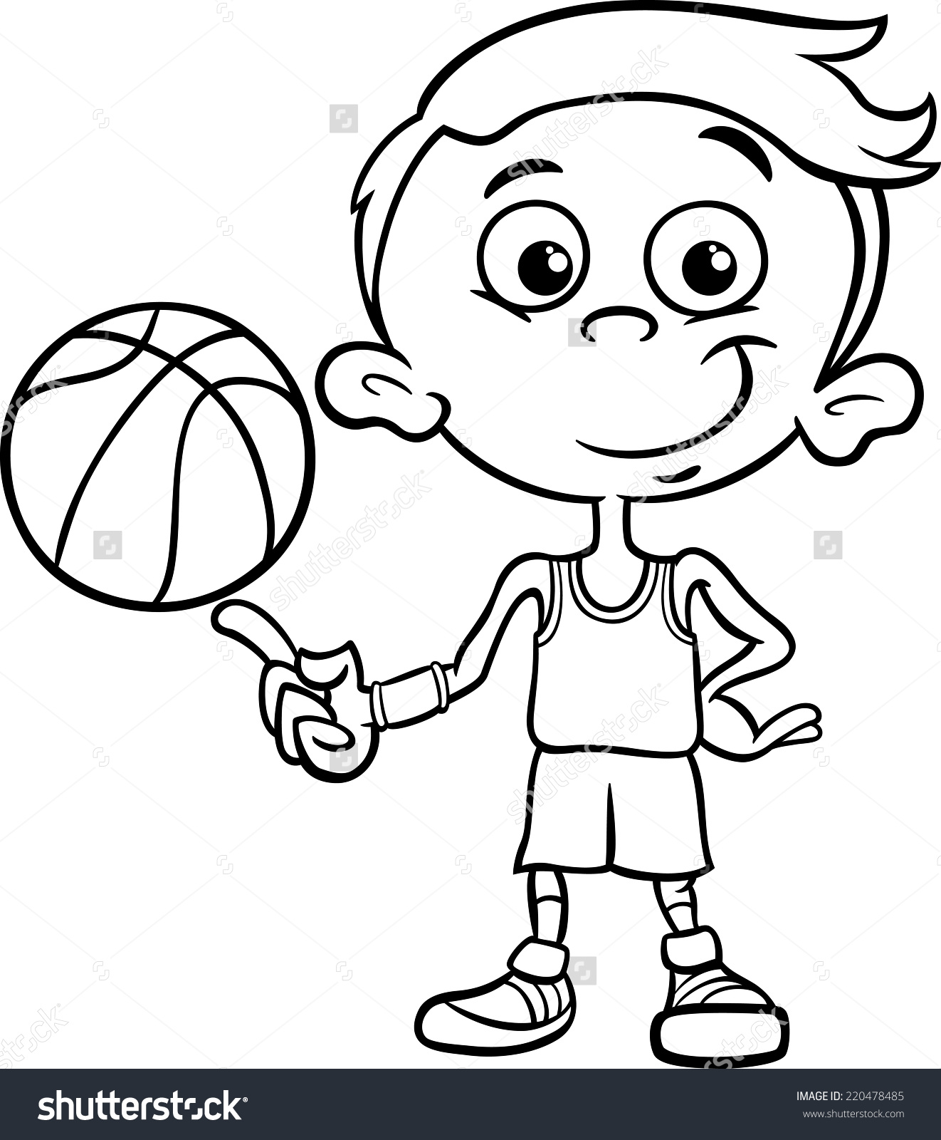 Showing post & media for Cartoon basketball black boys.