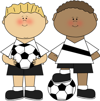 Boys Playing Clipart.