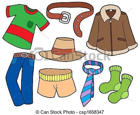 Boys Clothing Clipart.