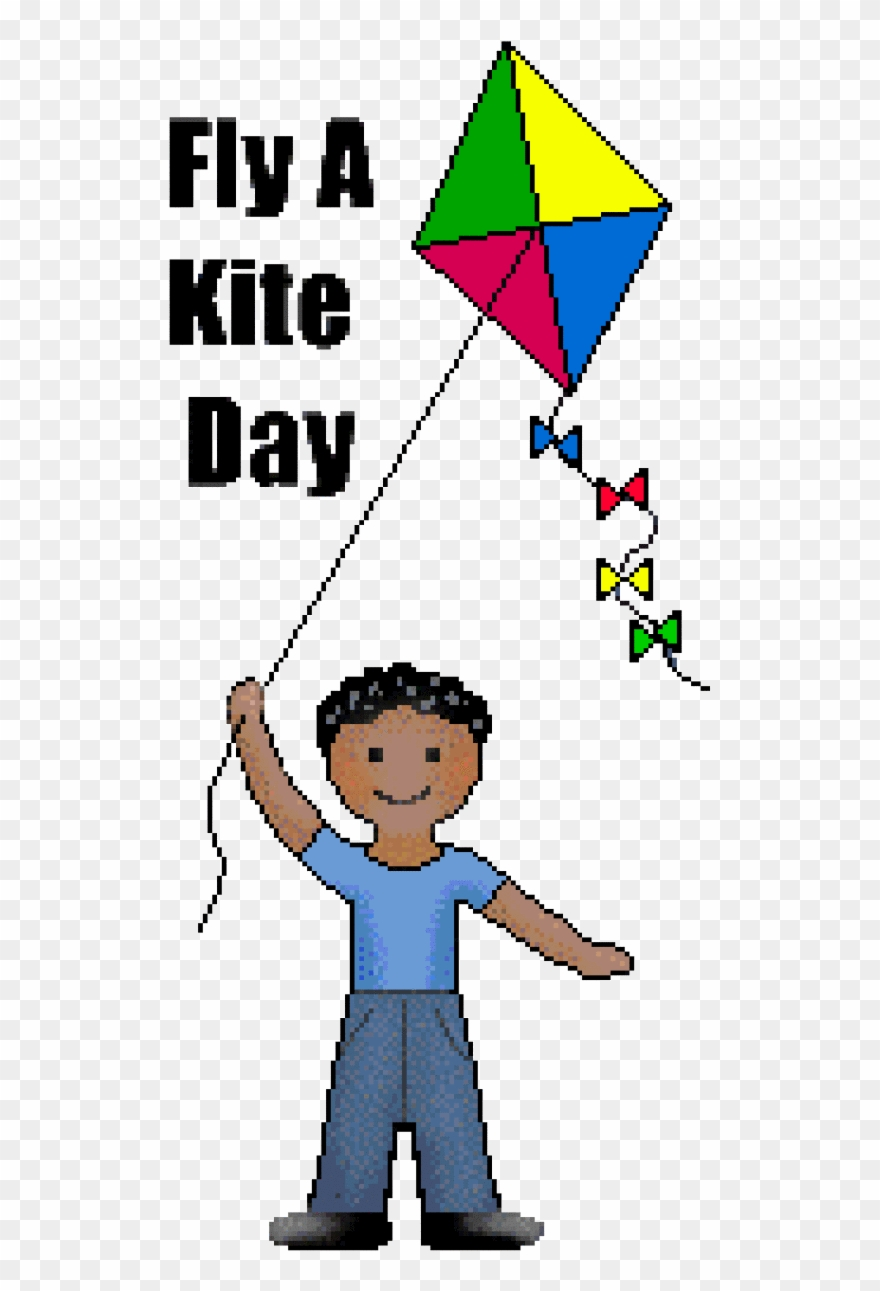 Kite Clip Art Free Fly A Day Boys And Girls.