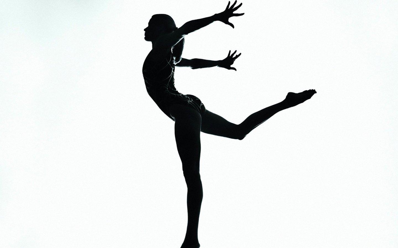 Boys gymnastics clipart black and white free.