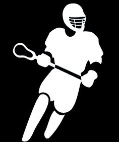 Girls Lacrosse Clipart.