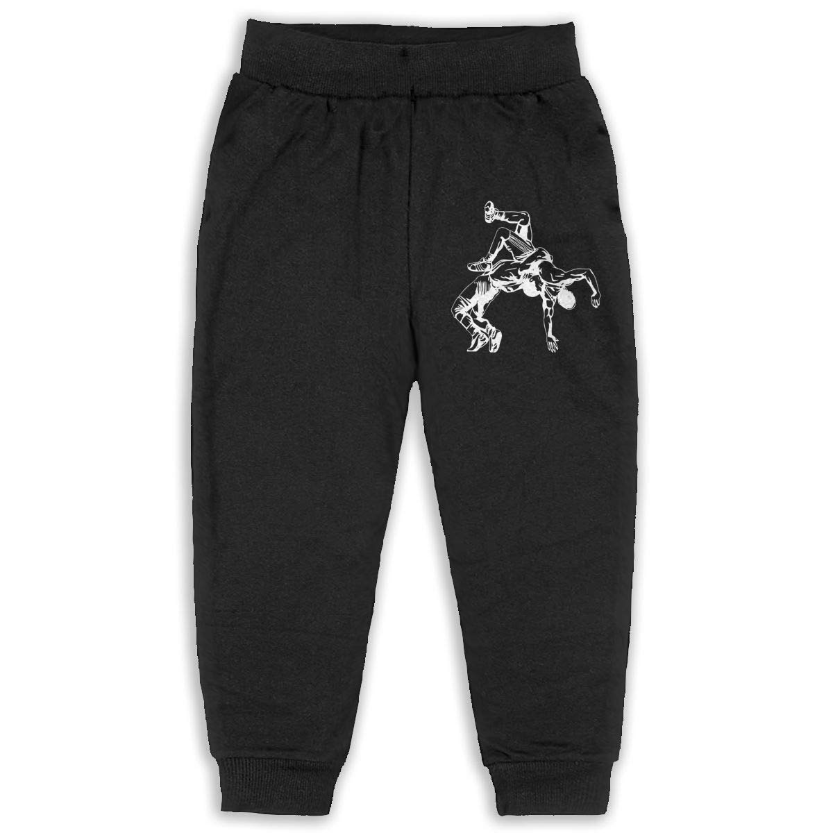 Amazon.com: Wrestling Clipart Baby Boys Girls Sports Pants Jogger.