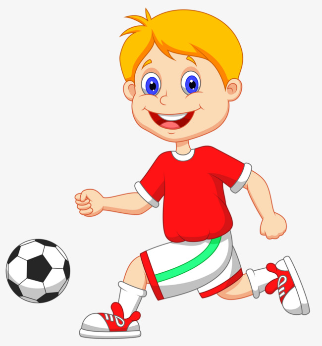 Boy playing soccer clipart 6 » Clipart Station.
