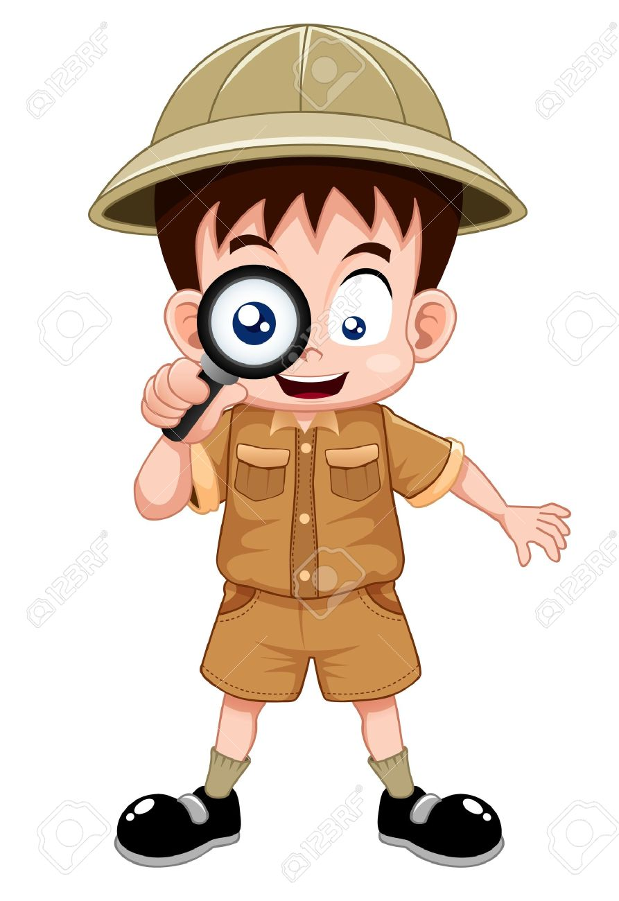 Boy scout clipart vector free.