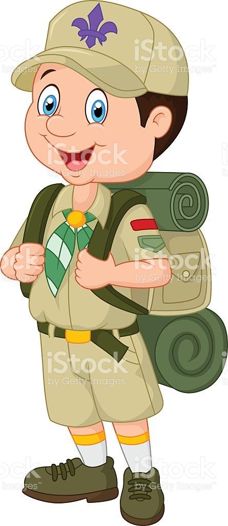 Boy scout clipart.