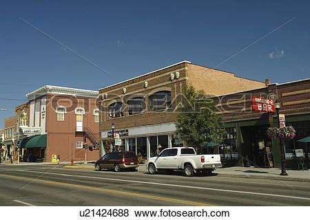 Pictures of Bozeman, MT, Montana, downtown u21424688.