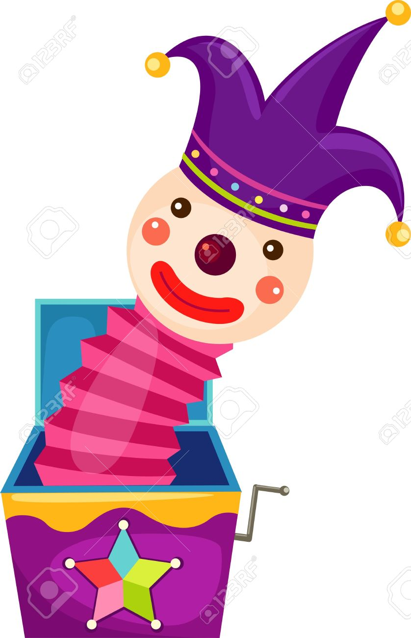 Bozo Magic Box Royalty Free Cliparts, Vectors, And Stock.