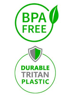 Sports Water Bottle BPA Free.