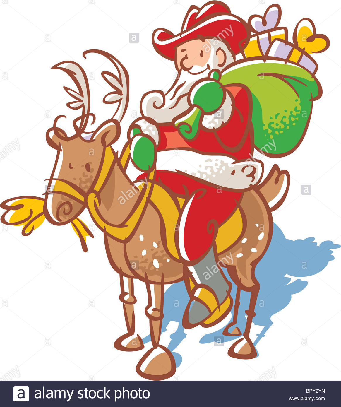 Showing post & media for Cartoon cowboy santa.