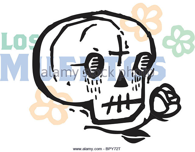 Cartoon Halloween Skull Mask Stock Photos & Cartoon Halloween.
