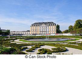 Stock Photo of Castle of Augustusburg.