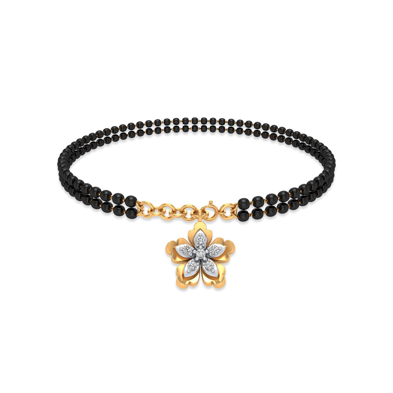 Sampurna Mangalsutra Bracelet.