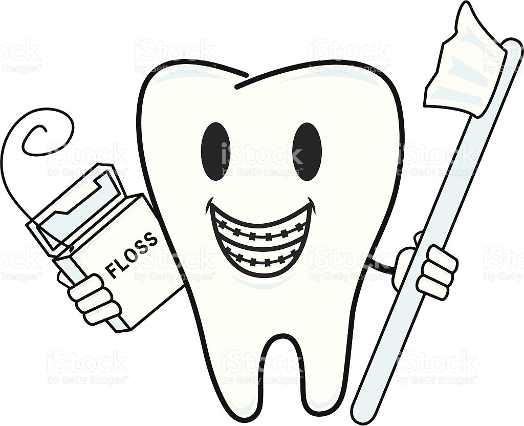Tooth clipart braces on teeth collection braces dental.
