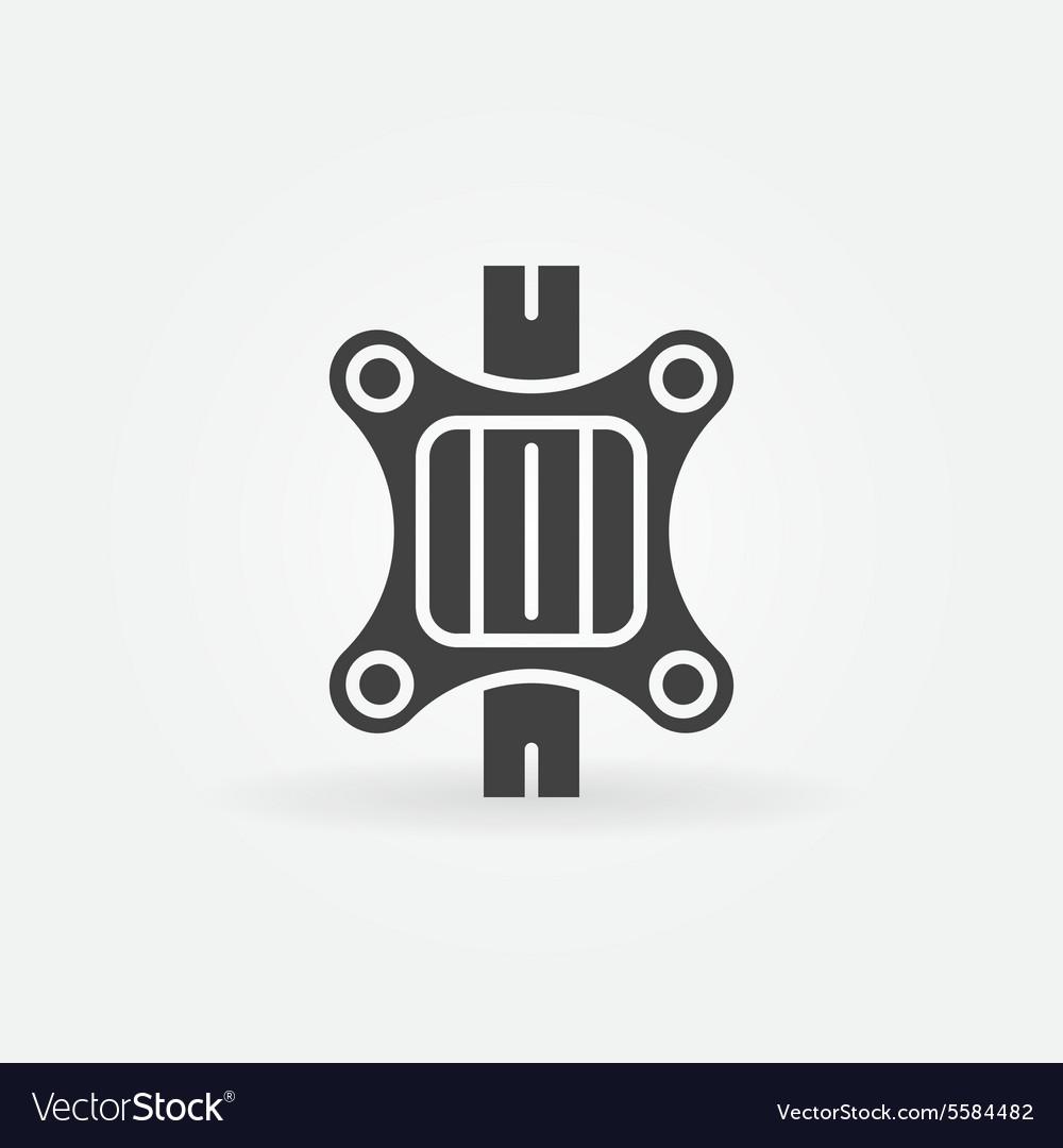 TV wall bracket logo.