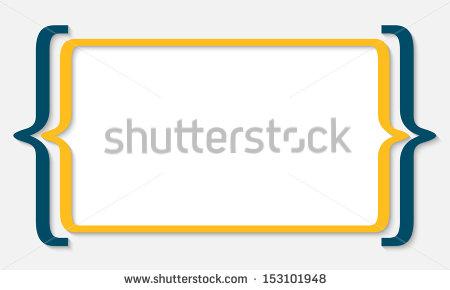 Bracketing Stock Vectors & Vector Clip Art.