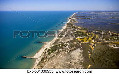 "Stock Image of ""Mediterranean coast, brackish water area of ?Çï."