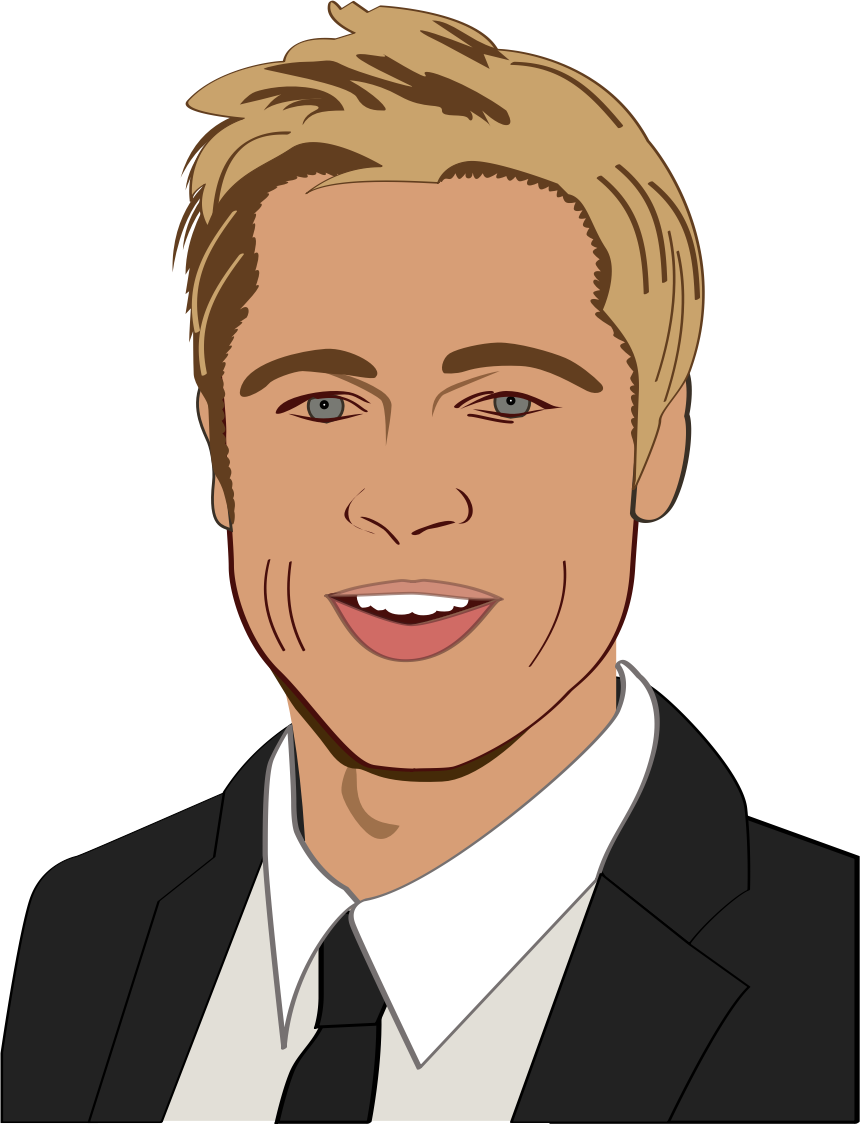Brad clipart to color.