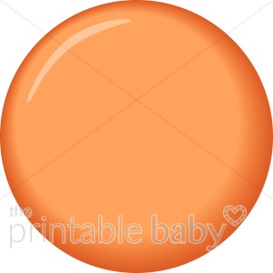 Orange Brad Clipart.