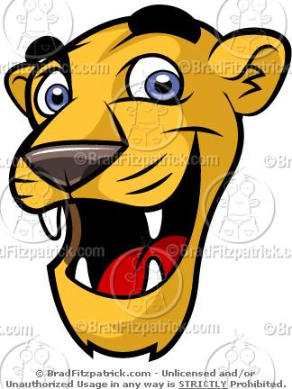 Need a Cartoon Cute Cougar Mascot? Check Out Our Cute Cougar.