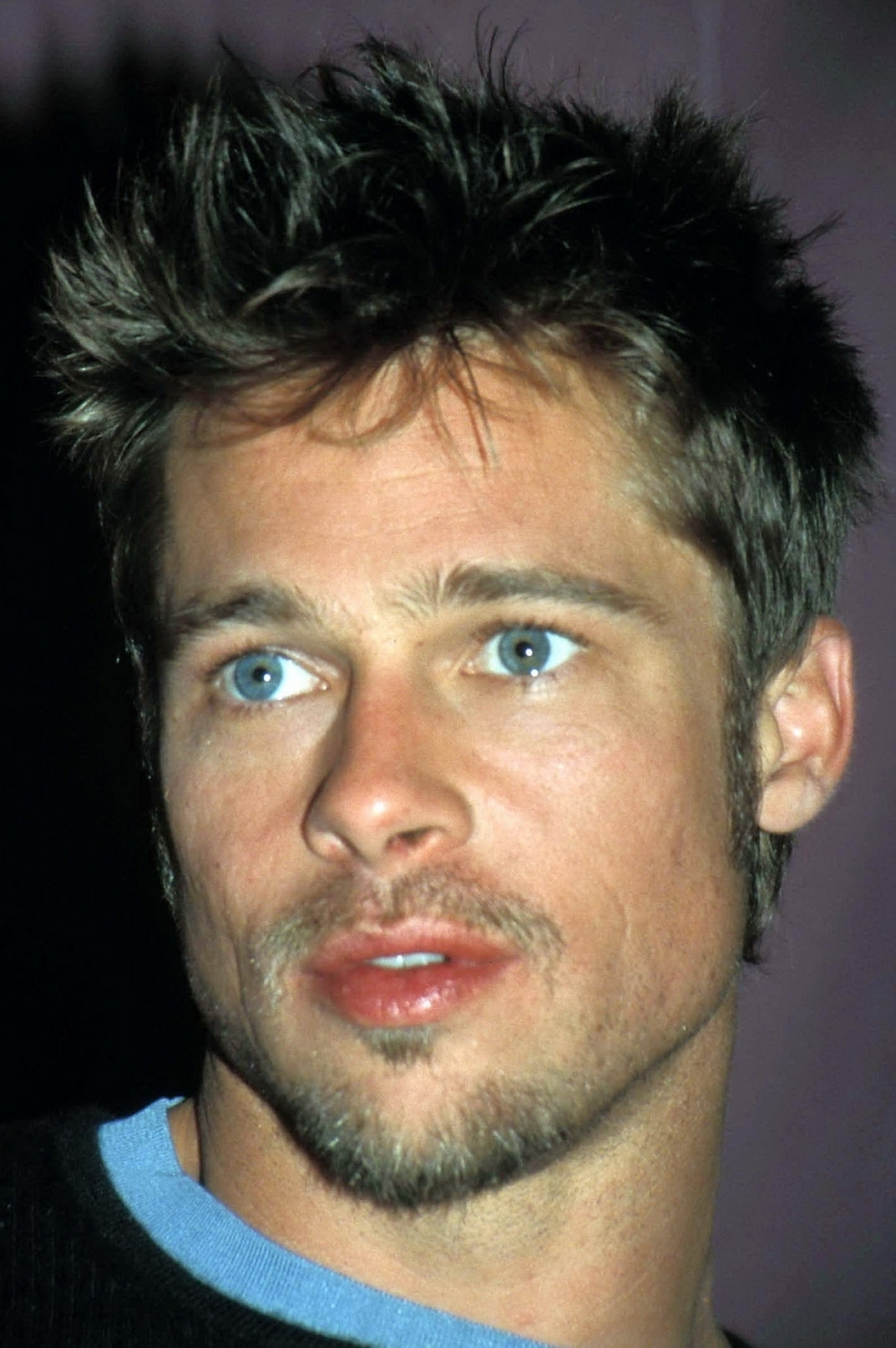 Brad Pitt in Troy. Angelina got him now, but Jennifer had him at.
