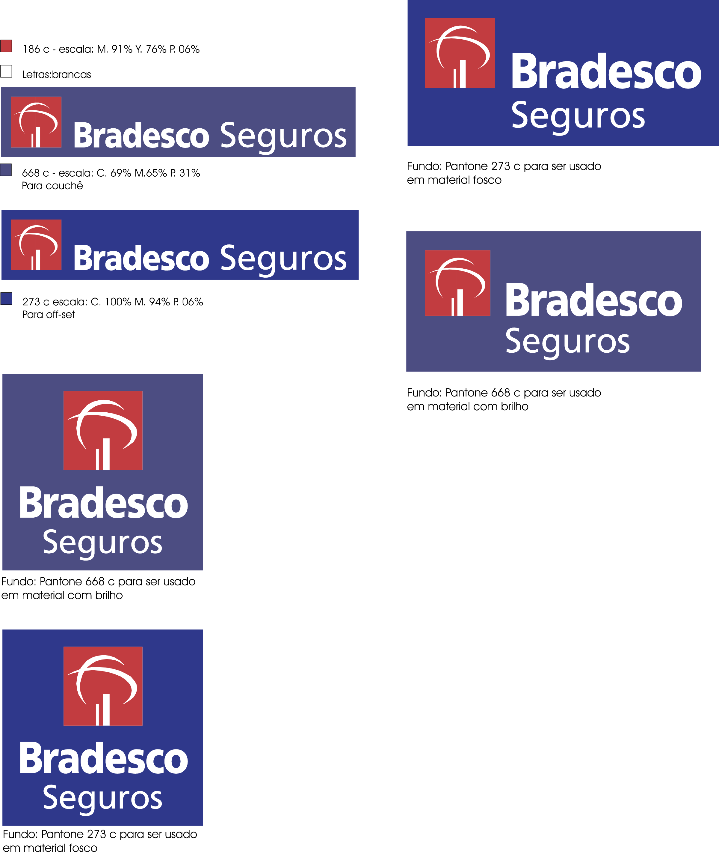 Bradesco Seguros Logo PNG Transparent & SVG Vector.