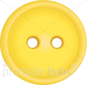 Yellow Button Clipart.