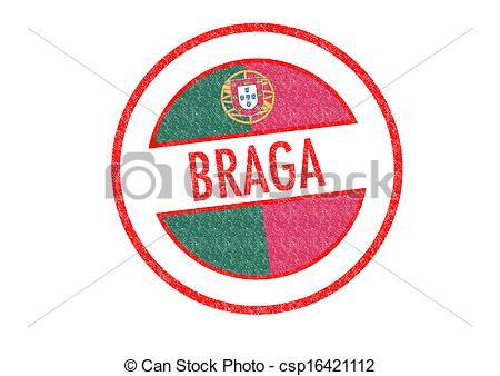 Clipart of BRAGA.